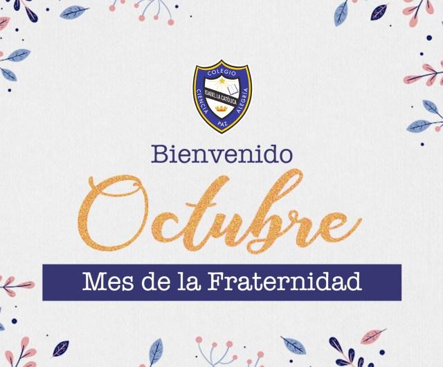 ¡Bienvenido Octubre!
