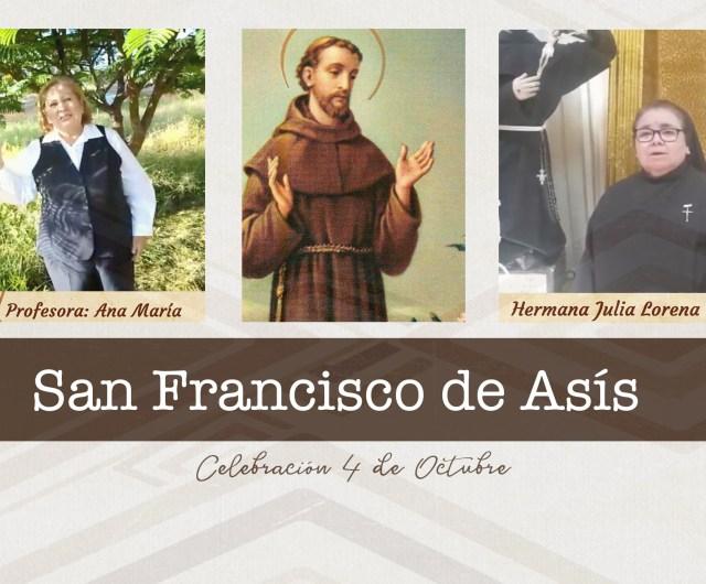 Celebración de San Francisco de Asís
