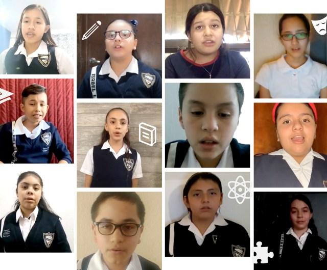 Honores de Marzo por alumnos de 6ºB