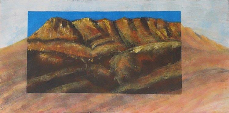 N°7 - 100x50cm - huile sur toile - 300 €.