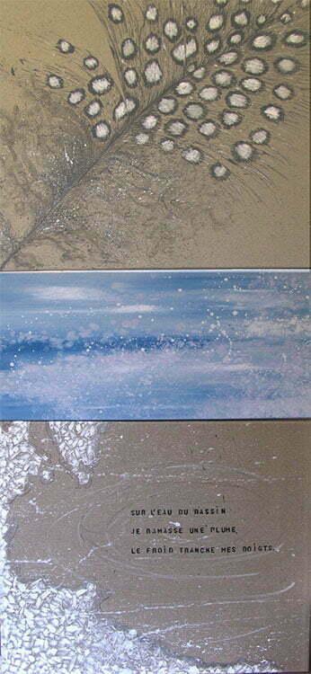 N°16 - 138x65cm - technique mixte - novembre 2012 - 900 €.