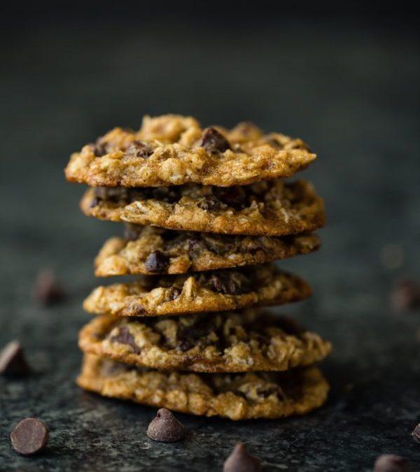 pile de cookies au chocolat