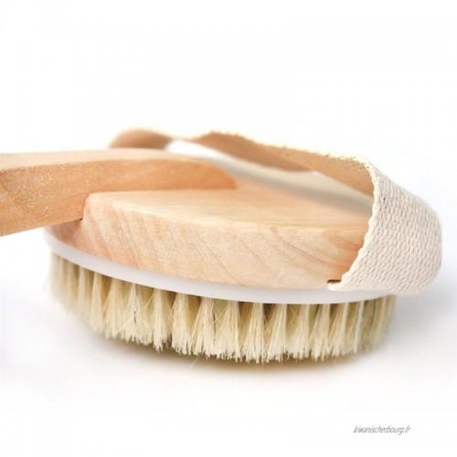 brosse pour le corps pour éliminer les toxines