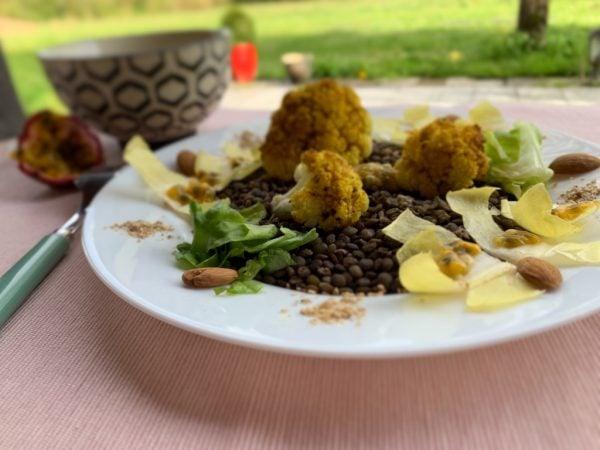 Salade de Chou-fleur et Lentilles