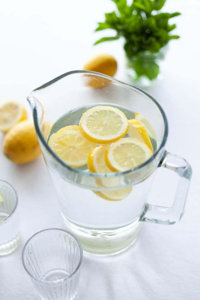 eau citronée