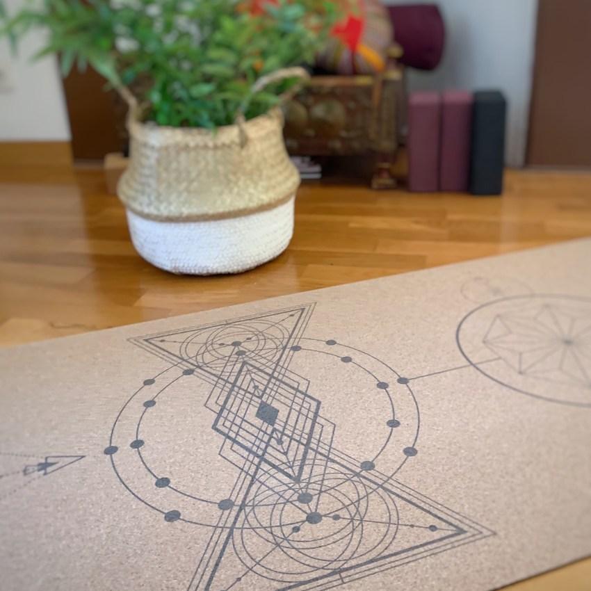 tapis de yoga de chez Mystic