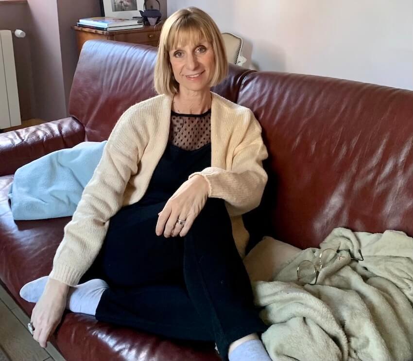 Isabel kehr en tenue cocooning Blancheporte