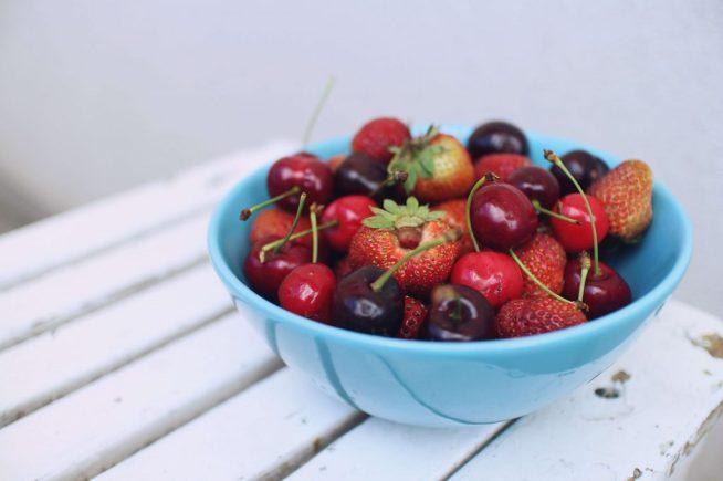 bol des fruits rouges