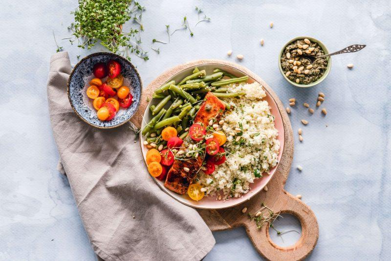 repas équilibré pour bien s'alimenter après 50 ans