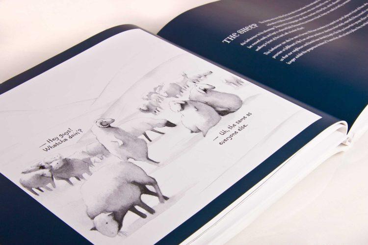Le livre d'entreprise est aussi appelé livre de prestige.
