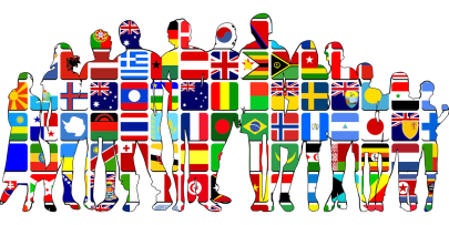 Des silhouettes sont unies indépendamment des pays où elles se trouvent.
