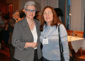 Isabelle Quentin en soutien aux auteurs impliqués dans le salon de la CoopHEC