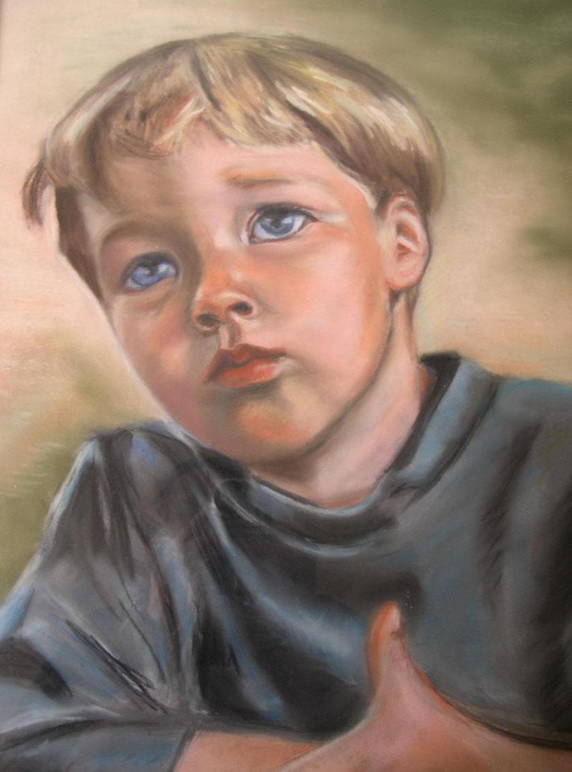 Portrait Johan 4 ans