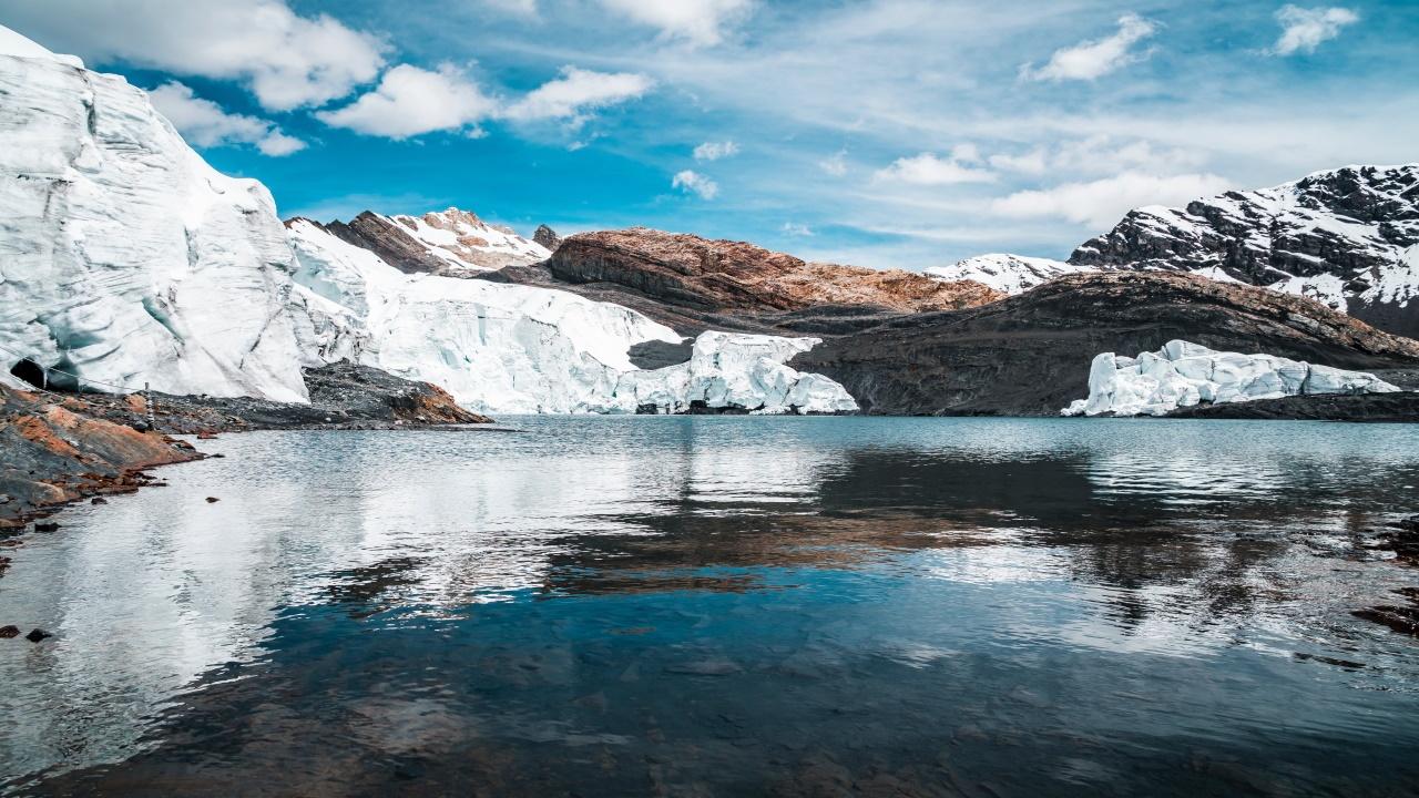 Rápido aumento de lagos glaciares desde 1990