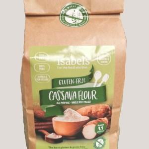 cassava flour, gluten free