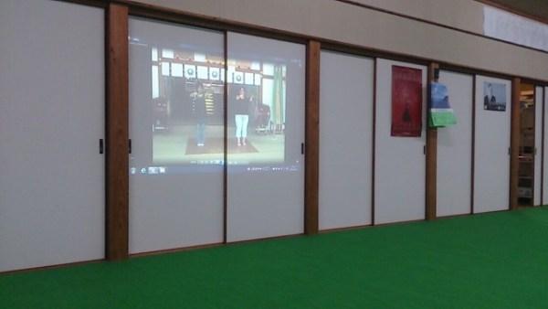 巫女舞の練習(栄田町)150822