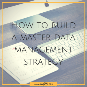 How to build a master data management strategy ⋆ Isa Lillo
