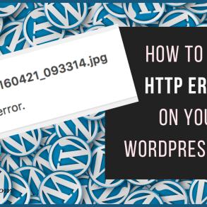 how to fix http error wordpress