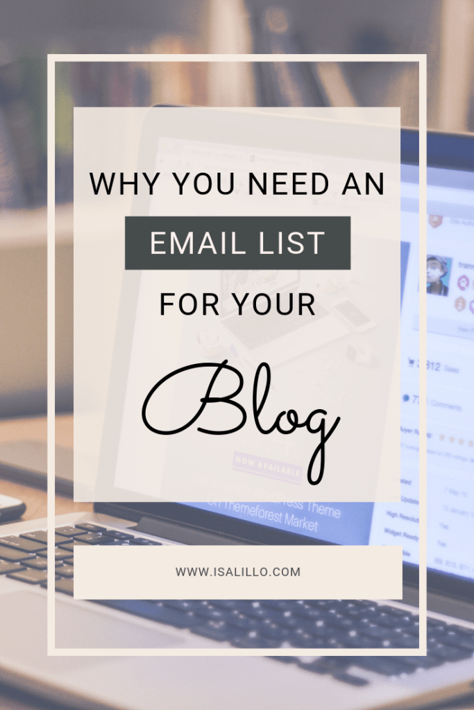 build email list for blog