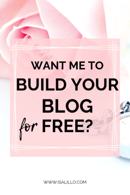 Get your Blog Set up for FREE!