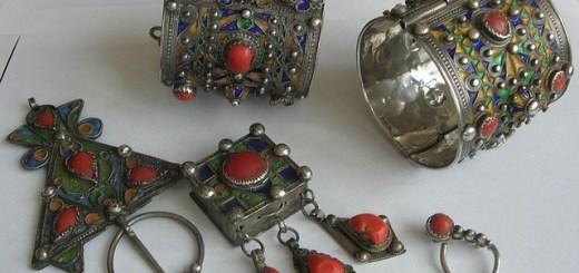 Bijoux traditionnels de Kabylie