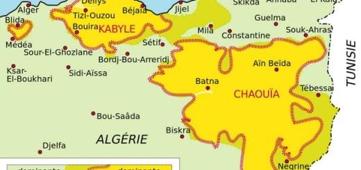 Carte Amazigh