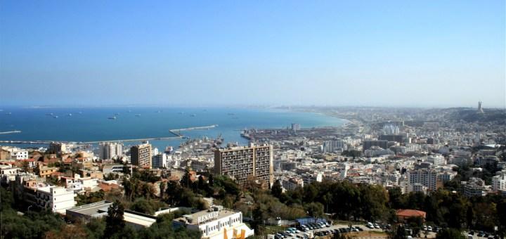 La baie d'Alger depuis le balcon Saint-Raphaël.