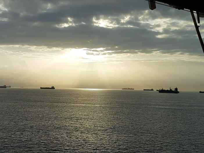 3. Anchorage at Cristobal Panama. Credits to Petros Exarchou