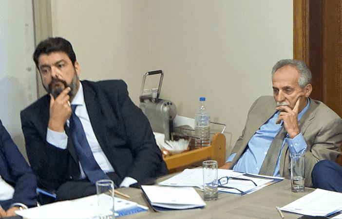 (Α-Δ): κ. Ιωάννης Ζαφειράκης, καπτ. Κώστας Κανελλόπουλος