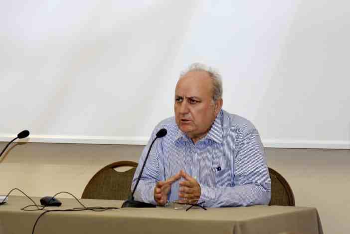 Ο κ. Σπύρος Βλάχος, Shipping Manager της Carras (Hellas) S.A.