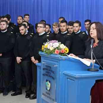 Η διευθύντρια σπουδών της ΑΕΝ Χίου κ. Μαρία Μακκά.