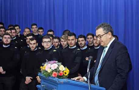 Ο Πρόεδρος του Ναυτικού Επιμελητηρίου Ελλάδος, κ. Γεώργιος Πατέρας.