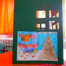 Ζωγραφιά από τους μαθητές του Νεστόριου Δημοτικού Σχολείου