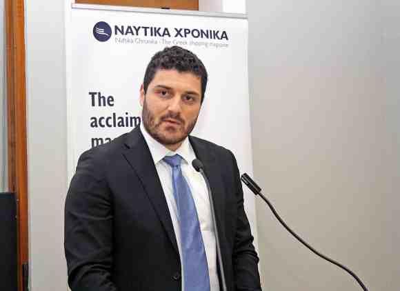 Ο κ. Διονύσης Τεμπονέρας, Γενικός Γραμματέας του υπουργείου Ναυτιλίας και Νησιωτικής Πολιτικής.