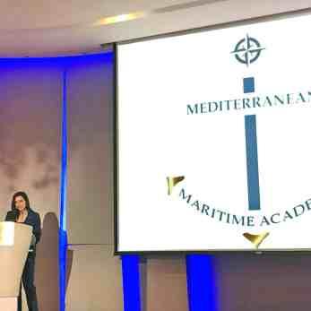 Η υφυπουργός Ναυτιλίας της Κύπρου κα Νατάσα Πηλείδου