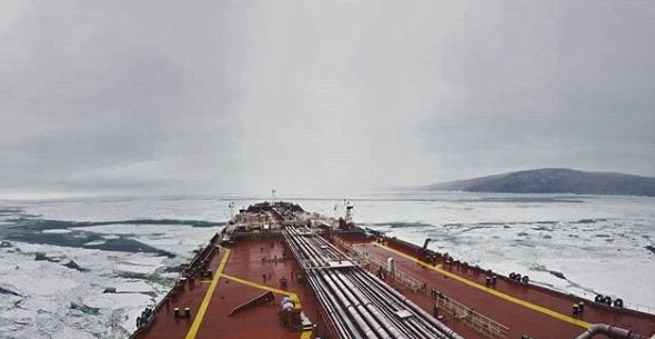 Winter ship! Credits: Markidis92