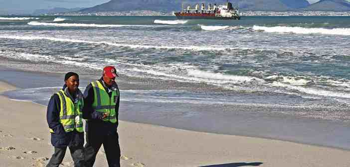 Environmental hazard posed by Turkish ship aground in Cape Town, South Africa