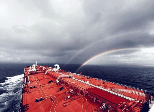 5. Double rainbow. Credits to V. Markidis