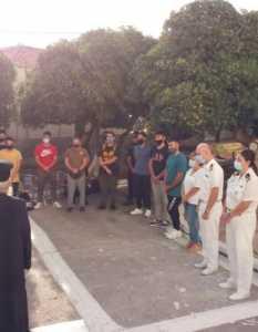 ΑΕΝ Οινουσσών: Αγιασμός με όλα τα μέτρα προστασίας
