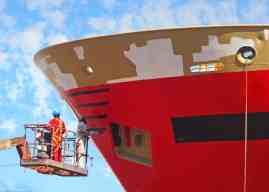 Σταδιακή απαγόρευση της ουσίας Cybutryne στις βαφές πλοίων