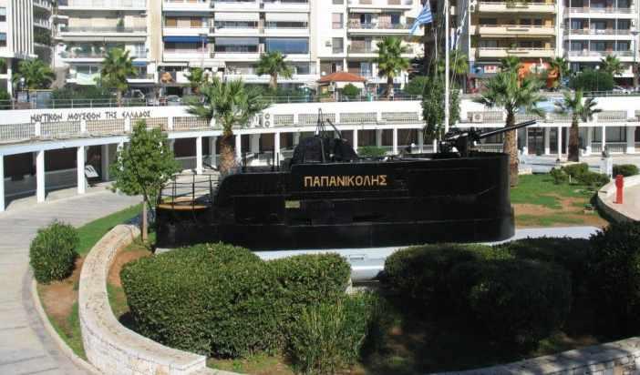 Το Ναυτικό Μουσείο της Ελλάδος στην Ακτή Θεμιστοκλέους στον Πειραιά