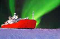 Πρόσω ολοταχώς για το πρώτο ιαπωνικό ερευνητικό παγοθραυστικό πλοίο στην Αρκτική