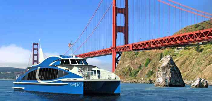 Καθελκύστηκε το πρώτο αμερικανικό εμπορικό πλοίο που θα τροφοδοτείται αποκλειστικά από κυψέλες καυσίμου υδρογόνου