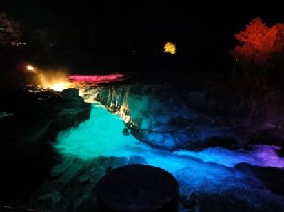 曽木の滝・ライトアップ・もみじ祭り