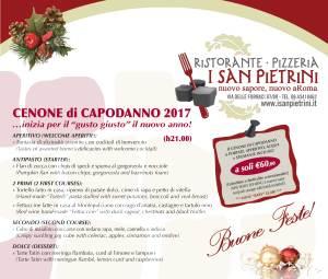 cenone capodanno 2017 ristorante i san pietrine roma san pietro