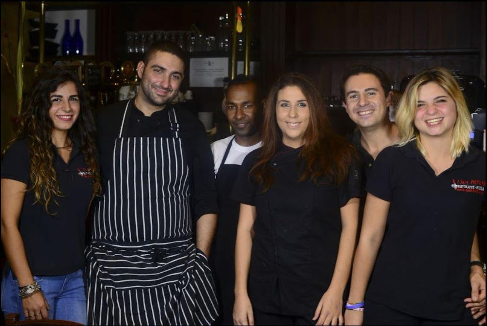 staff del ristorante