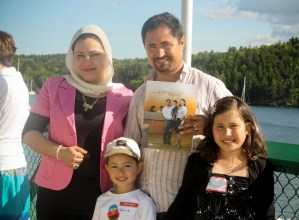 Mohamed Taghi Ali Madad and family
