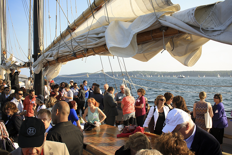 Networking and Idea Sharing on the Tall Ship Silva