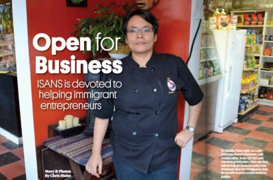 Open for Business – ISANS is devoted to helping immigrant entrepreneurs