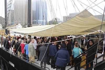 Build Your Business Networking Event on the Tall Ship Silva 2016